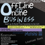 "Talk Show ""Offline To Online business"""