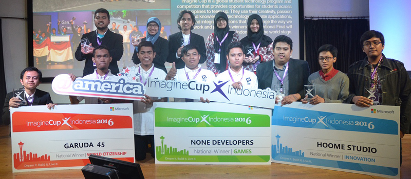 Juara Imagine Cup Indonesia 2016