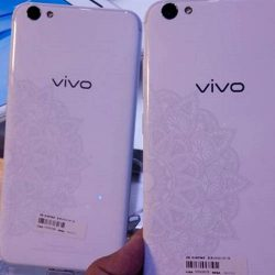 Vivo V5s Pure White Logo