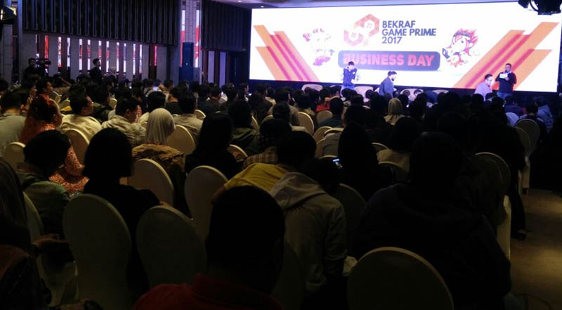 BEKRAF Game Prime Business Day 2017 Banner