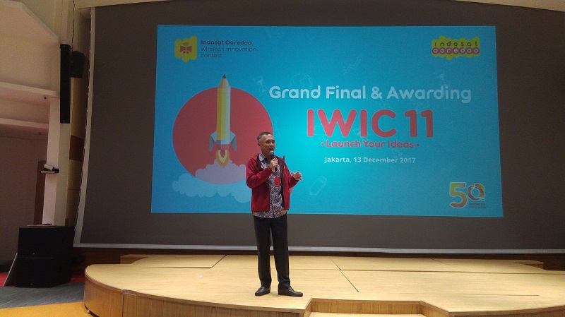Acara Puncak Indosat Ooreedoo Wireless Innovation Contest 2017